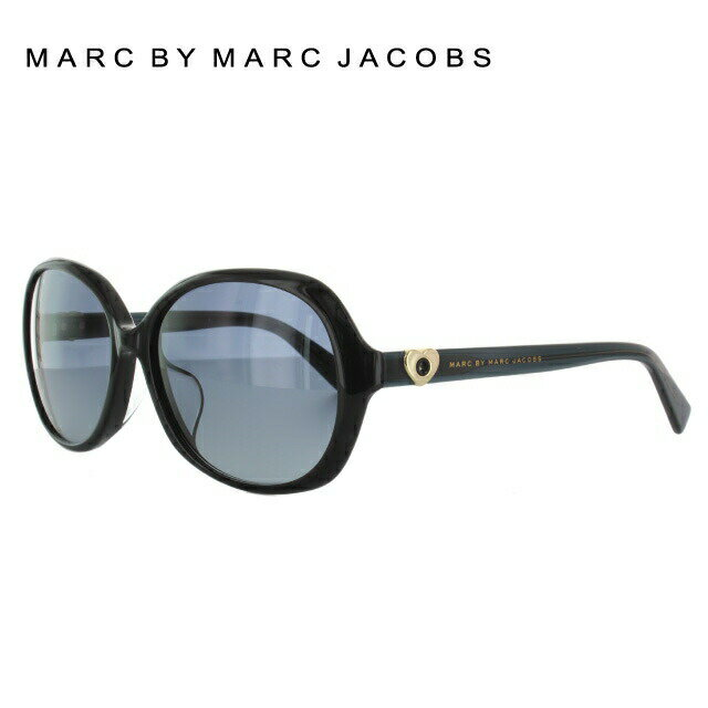 マークバイマークジェイコブス MARC BY MARC JACOBS サングラス 国内正規品 MMJ470FS 128/HD 59 ブラック アジアンフィット UVカット【レディース】