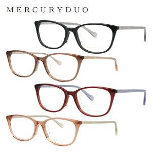 マーキュリーデュオ メガネフレーム 伊達メガネ MERCURYDUO MDF8043 全4カラー 51サイズ ウェリントン型 レディース ラインストーン 度付き 度なし 伊達 だて 眼鏡 アイウェア UVカット 紫外線対策