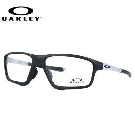 メガネ 度付き 度なし 伊達メガネ 眼鏡 オークリー OAKLEY クロスリンクゼロ OX8080-0358 58 マットブラック/クリア アジアンフィット CROSSLINK ZERO メンズ レディース スポーツ UVカット 紫外線【海外正規品】
