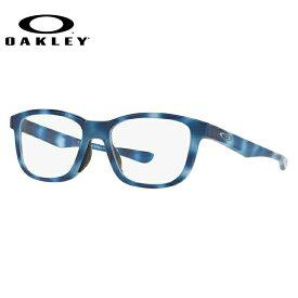 メガネ 度付き 度なし 伊達メガネ 眼鏡 オークリー クロスステップ 交換用ノーズパッド付 OAKLEY CROSS STEP OX8106-0550 50サイズ ウェリントン メンズ レディース 【ウェリントン型】 UVカット 紫外線【国内正規品】