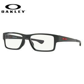 メガネ 度付き 度なし 伊達メガネ 眼鏡 オークリー エアドロップMNP 交換用ノーズパッド付 OAKLEY AIRDROP MNP OX8121-0255 55サイズ スクエア メンズ レディース 【スクエア型】 UVカット 紫外線【国内正規品】