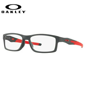 メガネ 度付き 度なし 伊達メガネ 眼鏡 オークリー クロスリンクMNP 交換用ノーズパッド付 OAKLEY CROSSLINK MNP OX8141-0556 56サイズ スクエア メンズ レディース UVカット 紫外線【国内正規品】