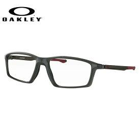 メガネ 度付き 度なし 伊達メガネ 眼鏡 オークリー チェンバー 交換用ノーズパッド付 OAKLEY CHAMBER OX8138-0355 55サイズ スクエア メンズ レディース UVカット 紫外線【国内正規品】
