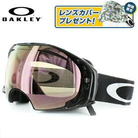 オークリー ゴーグル エアブレイク OAKLEY AIRBRAKE OO7073-01 Jet Black VR50 Pink Iridium + Dark Grey スキー スノーボード GOGGLE アジアンフィット スノーゴーグル ジャパンフィット