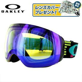 オークリー ゴーグル フライトデッキ エックスエム FLIGHT DECK XM OO7064-15 Disruptive Neon HI Yellow Iridium スキー スノーボード アジアンフィット OAKLEY スノーゴーグル ジャパンフィット