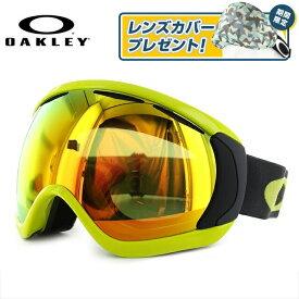 オークリー ゴーグル OAKLEY Canopy キャノピー OO7081-08 アジアンフィット Citrus Iron Fire Iridium スキー スノーボード