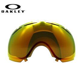 オークリー ゴーグル 交換レンズ OAKLEY CANOPY キャノピー 02-345 Fire Iridium レッド/ミラー 球面レンズ ダブルレンズ 曇り止め ウィンタースポーツ スノーボード SNOWBOAD スキー SKI 紫外線 UVカット