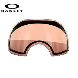 オークリー ゴーグル 交換レンズ OAKLEY AIRBRAKE エアブレイク 03-009 Rose レッド 球面レンズ ダブルレンズ 曇り止め ウィンタースポーツ スノーボード SNOWBOAD スキー SKI 紫外線 UVカット