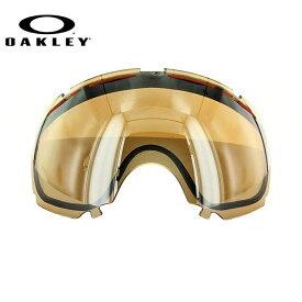 【訳あり】オークリー ゴーグル 交換レンズ OAKLEY CANOPY キャノピー 02-339 Black Iridium ブラック/ミラー 球面レンズ ダブルレンズ 曇り止め ウィンタースポーツ スノーボード SNOWBOAD スキー SKI 紫外線 UVカット