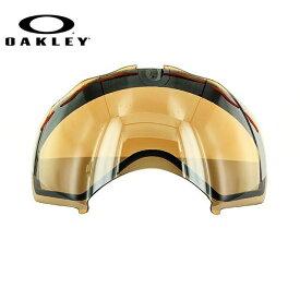 オークリー ゴーグル 交換レンズ OAKLEY SPLICE スプライス 02-181 Black Iridium ブラック/ミラー 球面レンズ ダブルレンズ 曇り止め ウィンタースポーツ スノーボード SNOWBOAD スキー SKI 紫外線 UVカット