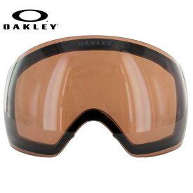 オークリー ゴーグル 交換レンズ OAKLEY FLIGHT DECK フライトデッキ 59-776 VR28 レッド 球面レンズ ダブルレンズ 曇り止め ウィンタースポーツ スノーボード SNOWBOAD スキー SKI 紫外線 UVカット