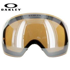 オークリー ゴーグル 交換レンズ OAKLEY FLIGHT DECK フライトデッキ 59-783 Black Iridium ブラック/ミラー 球面レンズ ダブルレンズ 曇り止め ウィンタースポーツ スノーボード SNOWBOAD スキー SKI 紫外線 UVカット