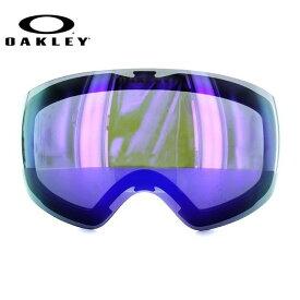 オークリー ゴーグル 交換レンズ OAKLEY FLIGHT DECK XM フライトデッキXM 101-104-005 Violet Iridium パープル/ミラー 球面レンズ ダブルレンズ 曇り止め ウィンタースポーツ スノーボード SNOWBOAD スキー SKI 紫外線 UVカット