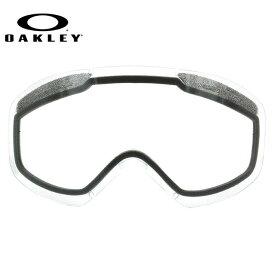 オークリー ゴーグル 交換レンズ OAKLEY O FRAME 2.0 XM Oフレーム2.0XM 101-120-001 Clear クリア 球面レンズ ダブルレンズ 曇り止め ウィンタースポーツ スノーボード SNOWBOAD スキー SKI 紫外線 UVカット