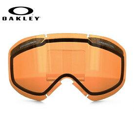 オークリー ゴーグル 交換レンズ OAKLEY O FRAME 2.0 XM Oフレーム2.0XM 101-120-003 Persimmon オレンジ 球面レンズ ダブルレンズ 曇り止め ウィンタースポーツ スノーボード SNOWBOAD スキー SKI 紫外線 UVカット