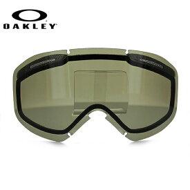 オークリー ゴーグル 交換レンズ OAKLEY O FRAME 2.0 XM Oフレーム2.0XM 101-120-006 Dark Grey グレー 球面レンズ ダブルレンズ 曇り止め ウィンタースポーツ スノーボード SNOWBOAD スキー SKI 紫外線 UVカット