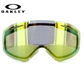 オークリー 交換レンズ スペアレンズ ゴーグル O2 XM(O Frame 2.0 XM) 101-120-010 24K Iridium Replacement Lens リプレイスメント レンズ 交換用 スキー スノーボード GOGGLE スノーゴーグル OAKLEY