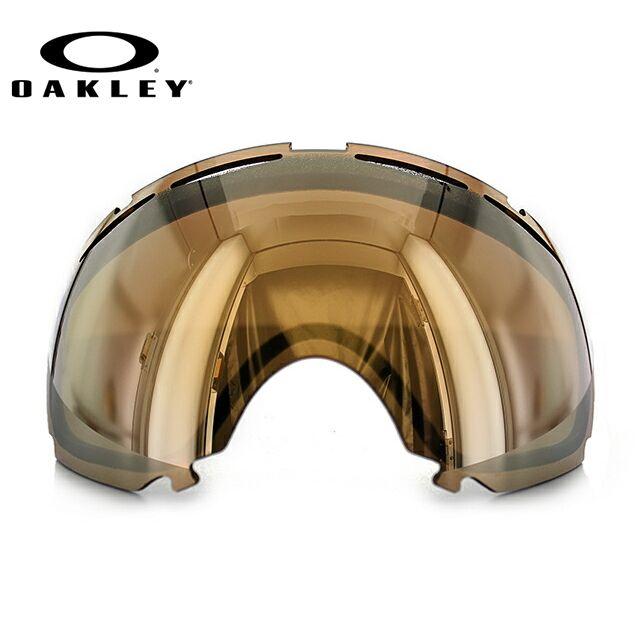 オークリー 交換レンズ スペアレンズ ゴーグル OAKLEY キャノピー CANOPY 101-243-001 24K Iridium Replacement Lens リプレイスメント レンズ 交換用 スキー スノーボード GOGGLE スノーゴーグル UVカット