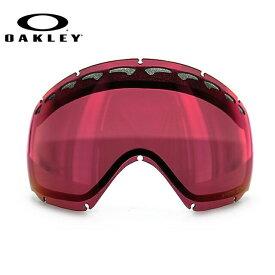 オークリー ゴーグル 交換レンズ OAKLEY CROWBAR クローバー 101-246-003 Prizm Torch Iridium プリズム レッド/ミラー 球面レンズ ダブルレンズ 曇り止め ウィンタースポーツ スノーボード SNOWBOAD スキー SKI 紫外線 UVカット