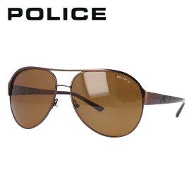 ポリス 偏光サングラス POLICE S8563C K05P メタリックブラウン/ブラウンポラライズド イタリア製 ティアドロップ 釣り ドライブ メンズ モデル UVカット 【国内正規品】