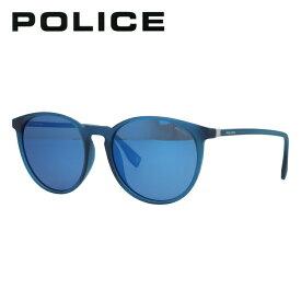 ポリス 偏光サングラス ミラーレンズ アジアンフィット POLICE SPL983I 892B 53サイズ ボストン型 メンズ 釣り ドライブ メンズ モデル UVカット 【国内正規品】