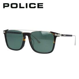 ポリス 偏光サングラス アジアンフィット POLICE SPLA37J AD2P 56サイズ スクエア(ダブルブリッジ) 釣り ドライブ メンズ レディース モデル UVカット 【国内正規品】