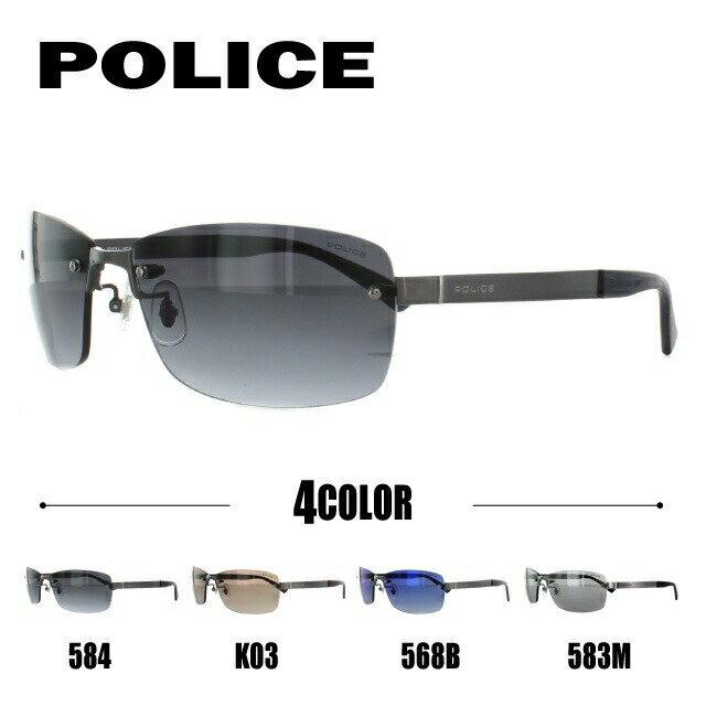 ポリス サングラス 国内正規品 POLICE S8915J 584/K03/568B/583M 63 アジアンフィット【メンズ】