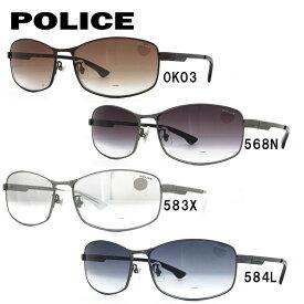 ポリス サングラス ストーム アジアンフィット POLICE STORM SPL743J 全4カラー 59サイズ スクエア メンズ UVカット 【国内正規品】