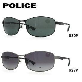 ポリス 偏光サングラス ストーム アジアンフィット POLICE STORM SPL743J 全2カラー 59サイズ スクエア 釣り ドライブ メンズ モデル UVカット 【国内正規品】