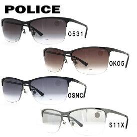 ポリス サングラス ブラックバード アジアンフィット POLICE BLACKBIRD SPL746J 全4カラー 59サイズ スクエア メンズ UVカット 【国内正規品】