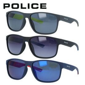 ポリス サングラス ロードスター 偏光サングラス ミラーレンズ アジアンフィット POLICE ROADSTER SPLC43I 全3カラー 60サイズ スクエア ユニセックス メンズ レディース