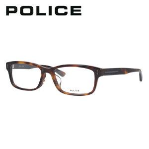 ポリス ライトカラー サングラス メガネフレーム 伊達メガネ アジアンフィット POLICE VPL486J 02BP 53サイズ スクエア ユニセックス メンズ レディース 【国内正規品】