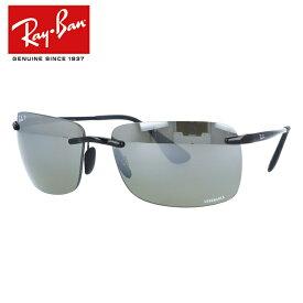 レイバン 偏光サングラス クロマンス Ray-Ban RB4255 601/5J 60 ブラック Chromance ミラーレンズ スクエア型 釣り ドライブ メンズ レディース モデル RAYBAN UVカット 【海外正規品】