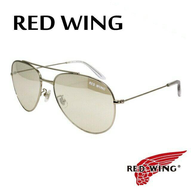 レッドウィング サングラス RED WING RW-001 3 ガラスレンズ ティアドロップ【メンズ】UVカット
