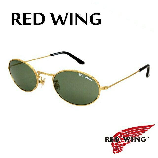 レッドウィング サングラス RED WING RW-002 1 ガラスレンズ【メンズ】UVカット 【ラウンド型】