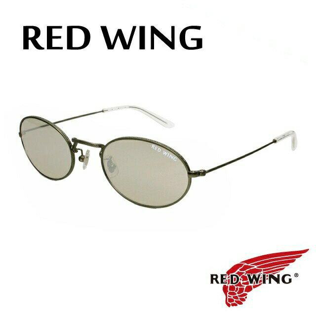 レッドウィング サングラス RED WING RW-002 2 ガラスレンズ【メンズ】UVカット 【ラウンド型】 UVカット