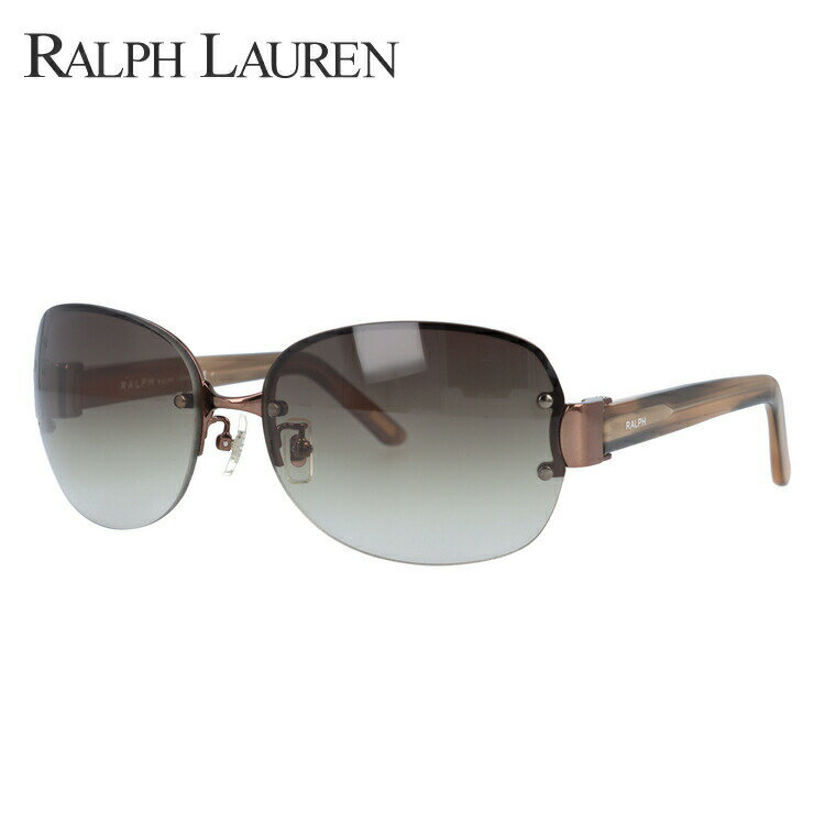 ラルフローレン サングラス 国内正規品 Ralph Lauren RA4087 374/13 61 ベージュ/ブラウングラデーション【レディース】【メンズ】 UVカット