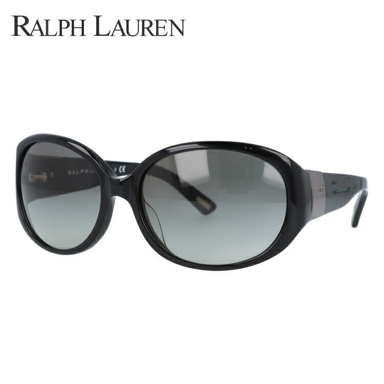 ラルフローレン サングラス 国内正規品 Ralph Lauren RA5156 501/11 59 ブラック/スモークグラデーション【レディース】 UVカット