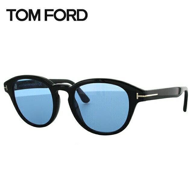 トムフォード サングラス フォン ビューロー レギュラーフィット TOM FORD Von Bulow TF0521 01V 52サイズ(FT0521) メンズ トム・フォード【レディース】 【ボストン型】 UVカット