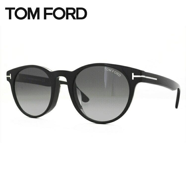 トムフォード サングラス アジアンフィット TOM FORD TF0522F (FT0522F) 01B 51サイズ ラウンド UVカット
