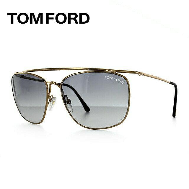 【訳あり】トム・フォード サングラス TOM FORD TF192S 28B ゴールド/スモークグラデーション FT0192 Harry【レディース】 UVカット