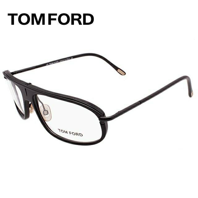 トムフォード TOMFORD 伊達メガネ 眼鏡 TF5047 B5 55サイズ セル/ティアドロップ/メンズ