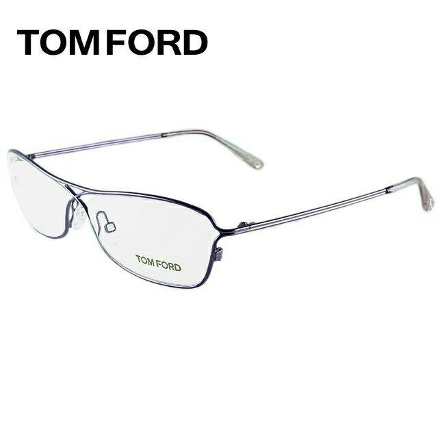 トムフォード TOMFORD 伊達メガネ 眼鏡 TF5144 078 54サイズ チタン/スクエア/レディース