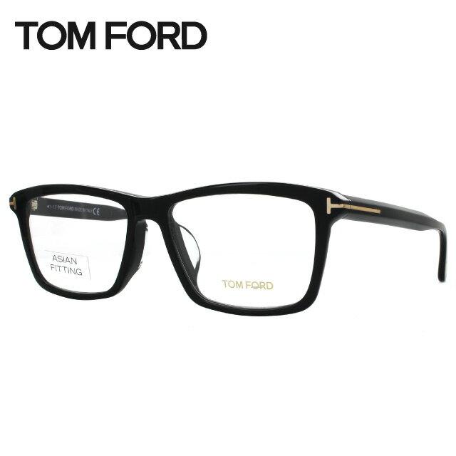 トムフォード 伊達メガネ 眼鏡 アジアンフィット TOM FORD TF5407F(FT5407F) 001 57サイズ スクエア メンズ レディース 【スクエア型】