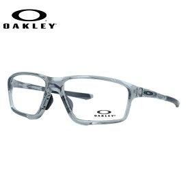 オークリー 眼鏡 フレーム OAKLEY メガネ CROSSLINK ZERO クロスリンクゼロ OX8080-0458 58 アジアンフィット スクエア型 スポーツ メンズ レディース 度付き 度なし 伊達 ダテ めがね 老眼鏡 サングラス【国内正規品】
