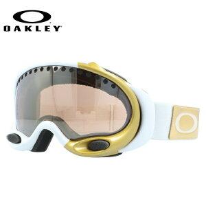 オークリー スノーゴーグル OAKLEY A FRAME Aフレーム レギュラーフィット 57-821 ミラー 球面ダブルレンズ メンズ レディース 曇り止め スポーツ スノーボード スキー 紫外線 UVカット 雪 冬 ブラ