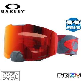オークリー ゴーグル OAKLEY OO7086-08 FALL LINE フォールライン アジアンフィット プリズム ミラー 平面ダブルレンズ 眼鏡対応 メンズ レディース 曇り止め ウィンタースポーツ スノーボード スキー スノーゴーグル