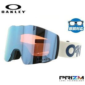 オークリー ゴーグル OAKLEY OO7103-01 FALL LINE XM フォールラインXM レギュラーフィット プリズム ミラー 平面ダブルレンズ 眼鏡対応 メンズ レディース 曇り止め ウィンタースポーツ スノーボード スキー スノーゴーグル