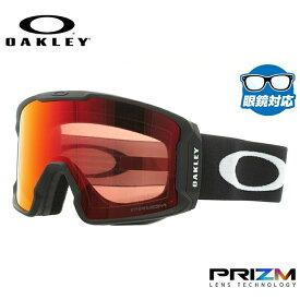 オークリー ゴーグル OAKLEY OO7070-02 LINE MINER ラインマイナー レギュラーフィット プリズム ミラー 平面ダブルレンズ 眼鏡対応 メンズ レディース 曇り止め ウィンタースポーツ スノーボード スキー スノーゴーグル