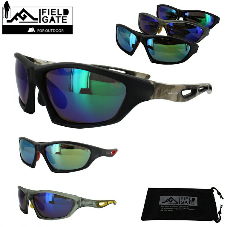 偏光サングラス スポーツサングラス メンズ 釣り ドライブ アウトドア ミラーレンズ 6720 UVカット 反射防止コート